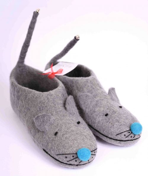 mouse-felt-slippers