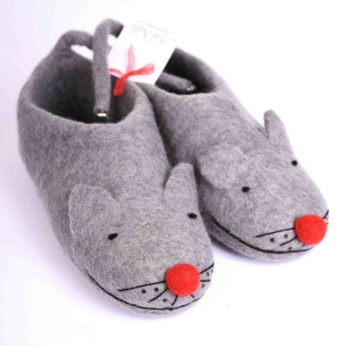 mouse-felt-slippers-nose-red
