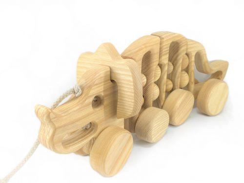 wooden-dinosaur
