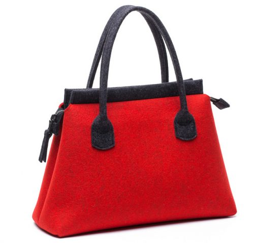 business-felt-handbag-red
