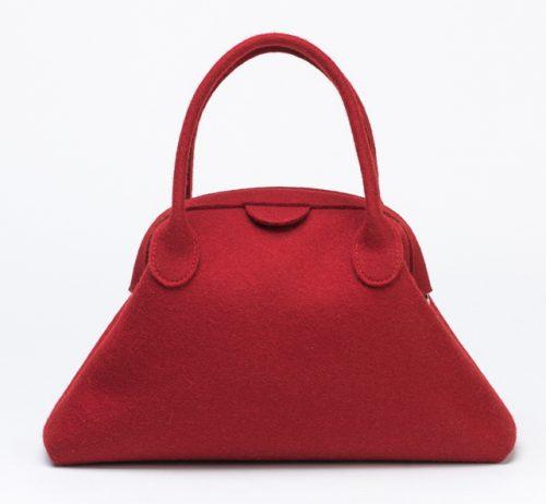 felt-handbag-trapeze-red