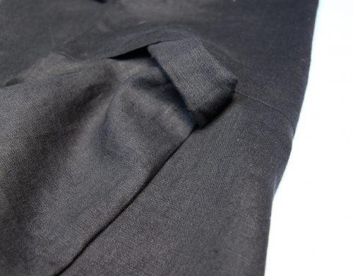 linen-black-dress