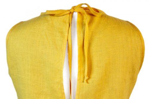 yellow-linen-dress