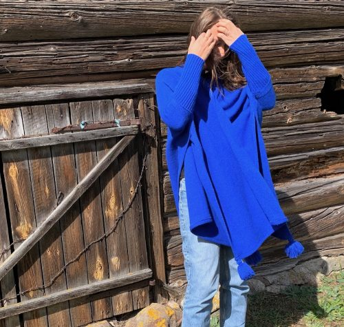 cape-with-sleevs-blue