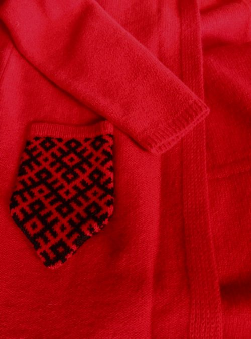cardigan-red