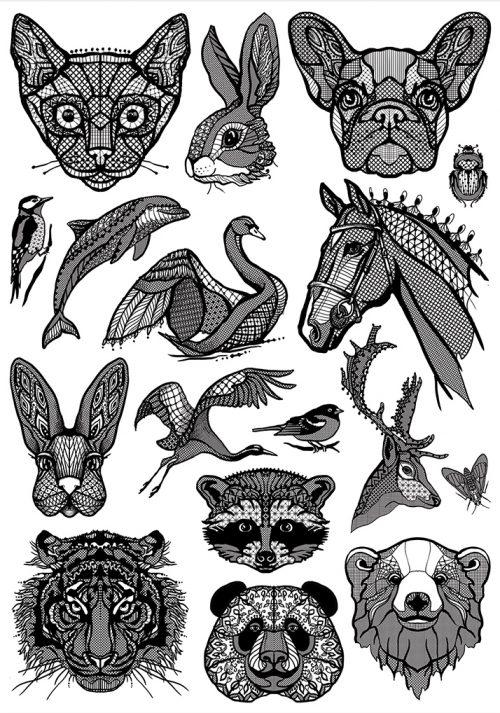 tattoo-animals