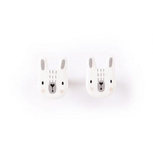porcelain-earings-bunny-white