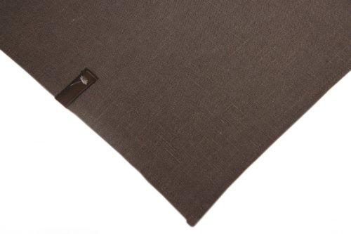 dark-brown-linen-tablecloth